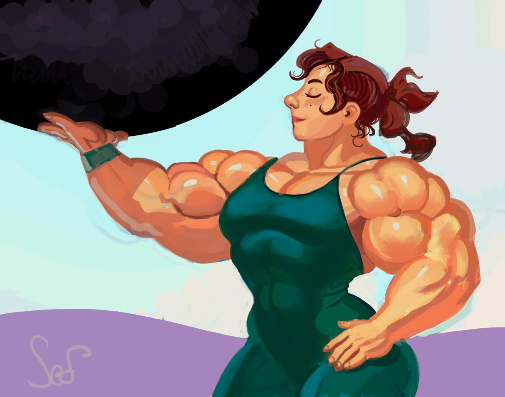 mature woman bending steel jpg 1152x768