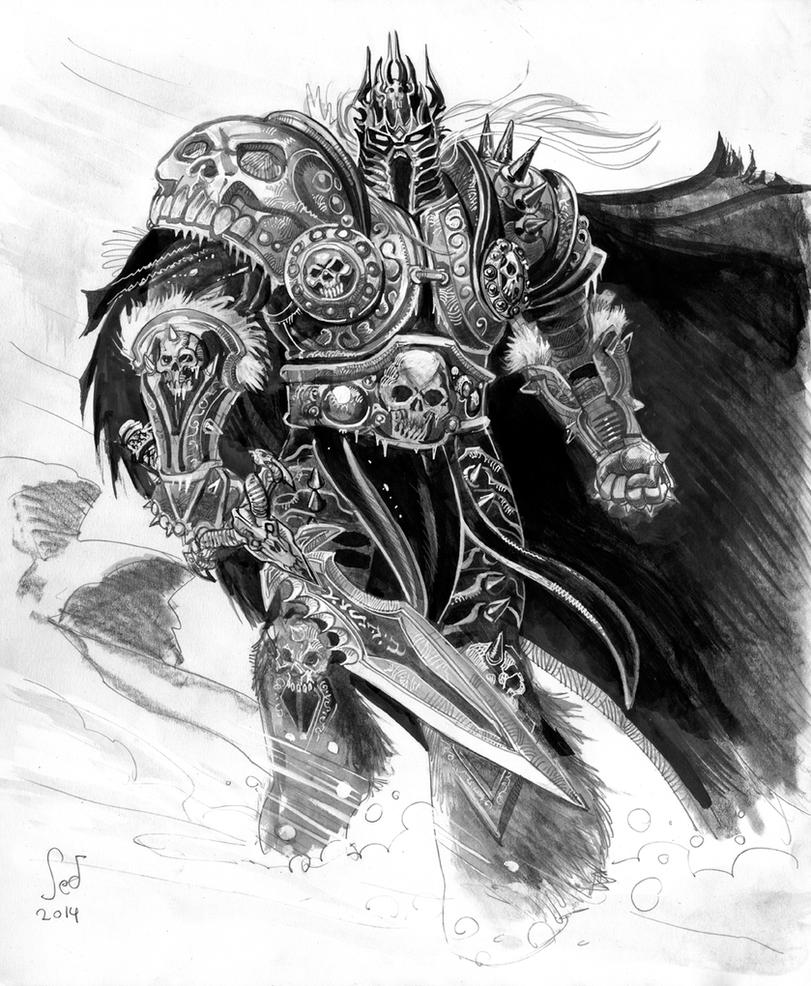 Arthas The Lich King Commission By Jebriodo On DeviantArt