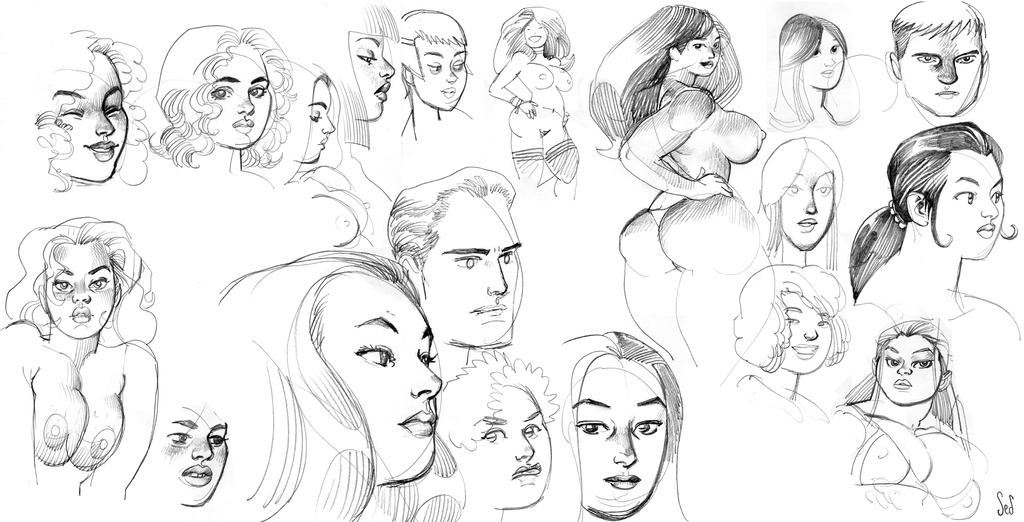 Faces 2014 by Jebriodo