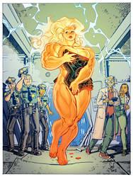 Commission: American Steele- Origin by Jebriodo