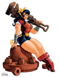 Bombshell Wonder Woman by Jebriodo