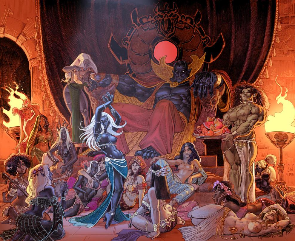 Lord Killlshade commission by Jebriodo