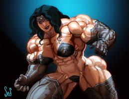 Iron Amazon by Jebriodo