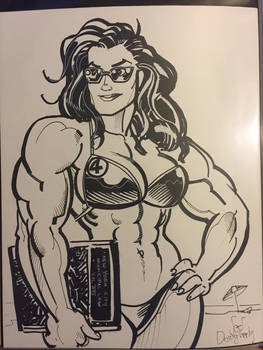 She Hulk Convention Sketch