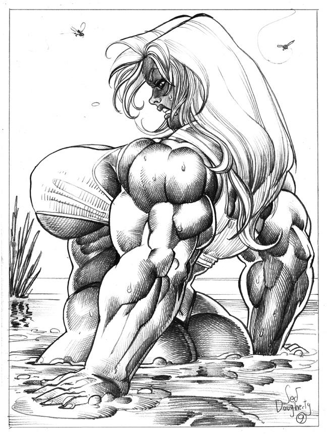 Rachel Quicksand commission 9 by Jebriodo