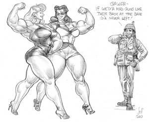 Guns sketch