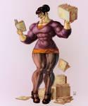 Shezam Comics color sketch
