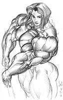 Big Strong Woman by Jebriodo