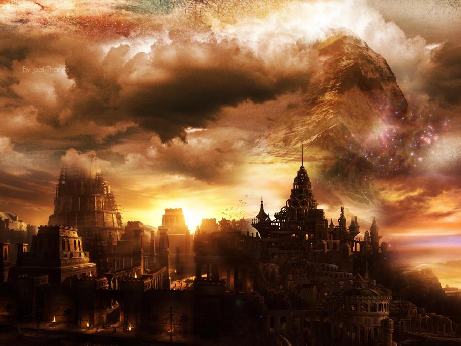 Fantasy city by desigz