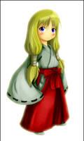 Miko Girl Chibi