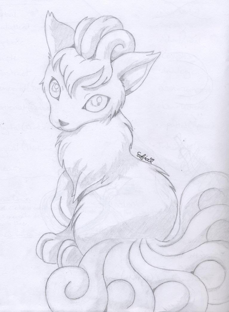 Vulpix by PikachuHolo