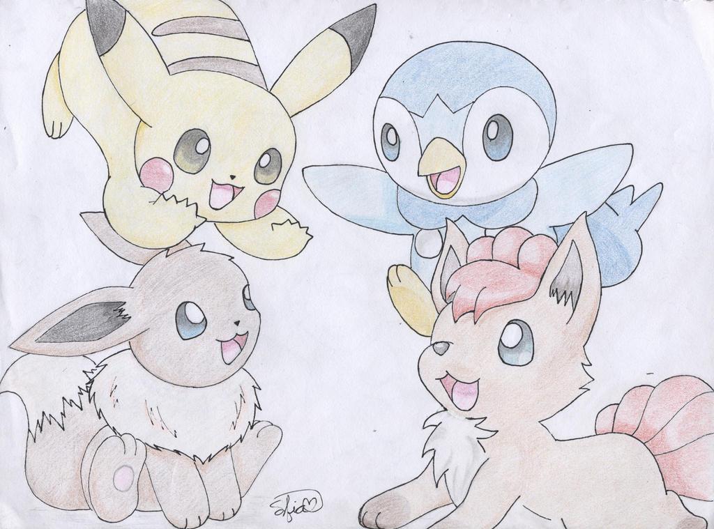 Best Friends:) by PikachuHolo on DeviantArt