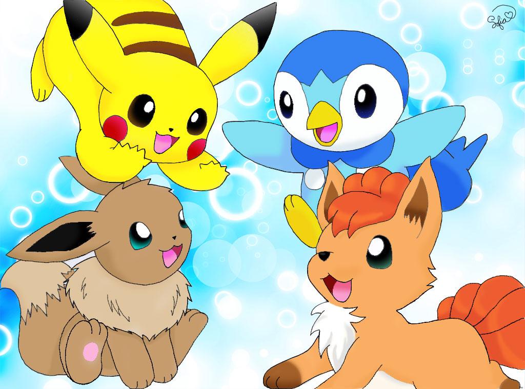 Best Friends Forever by PikachuHolo on DeviantArt