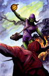 Green Goblin colors