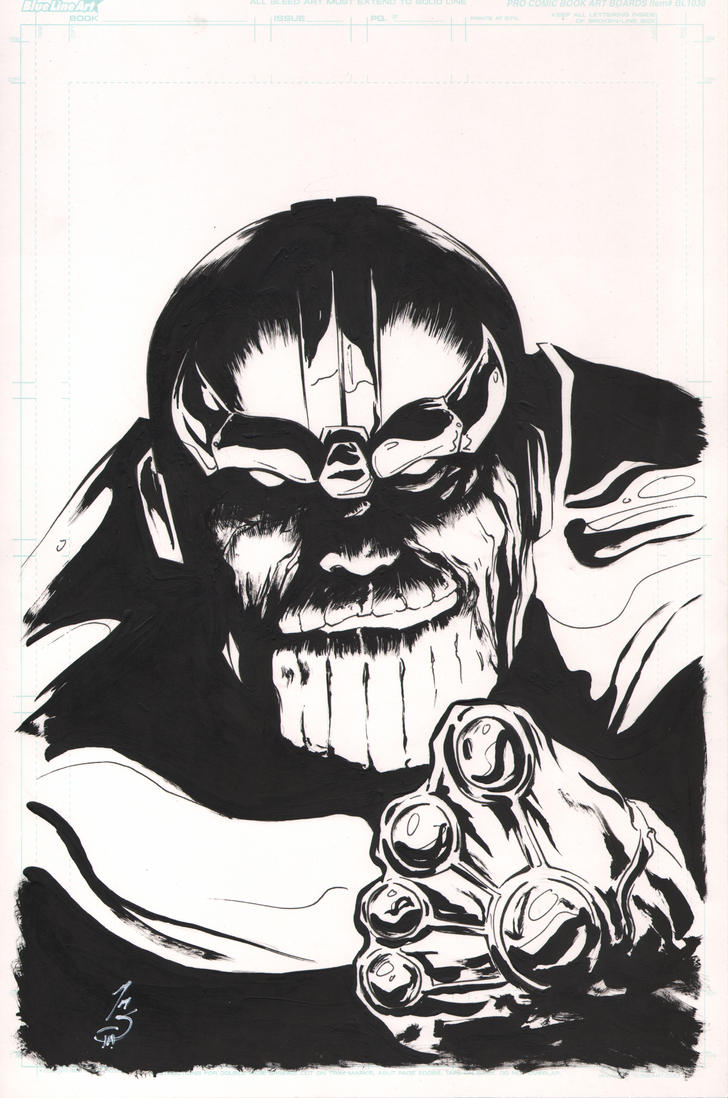 THANOS! by SpaciousInterior