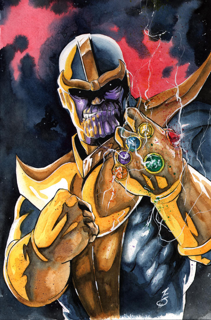 Thanos by SpaciousInterior