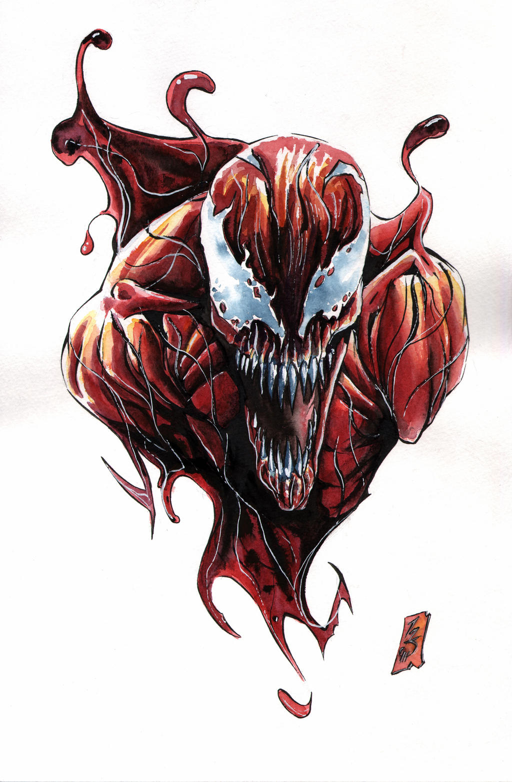 carnage tat by spaciousinterior on deviantart