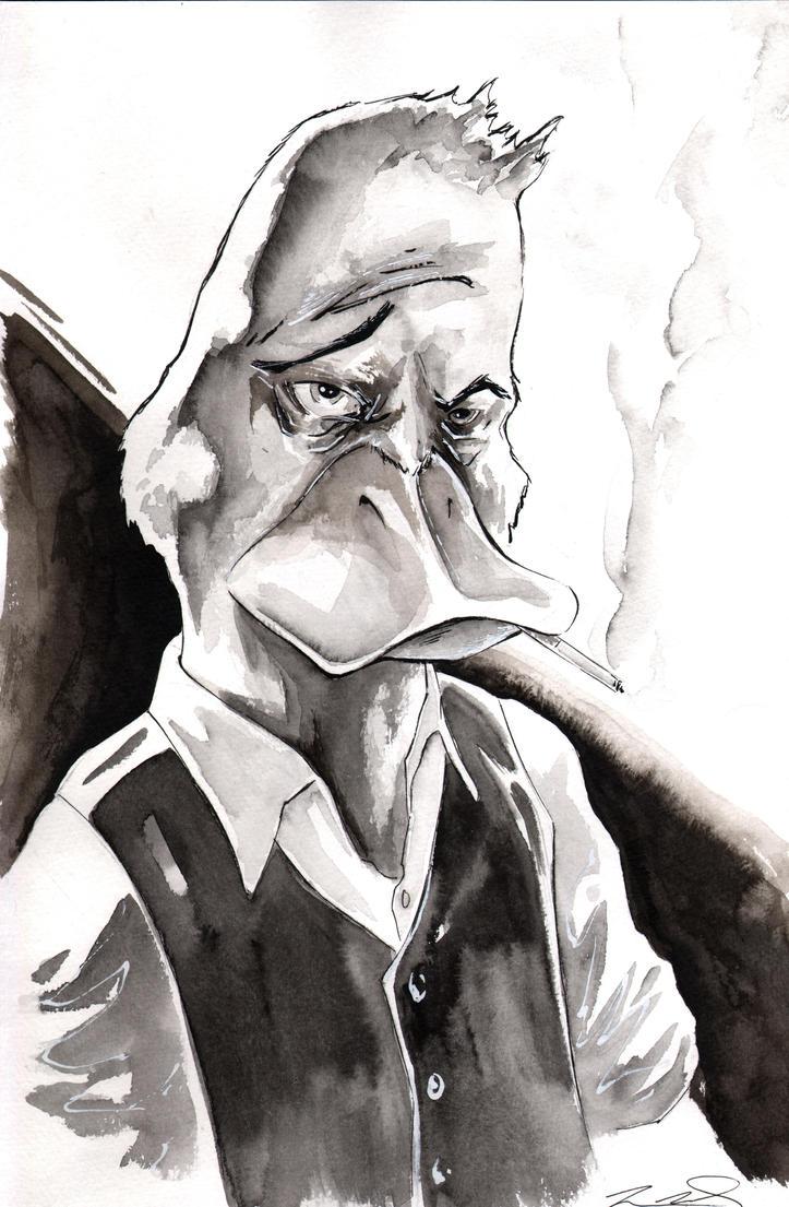 Howard the Duck by SpaciousInterior