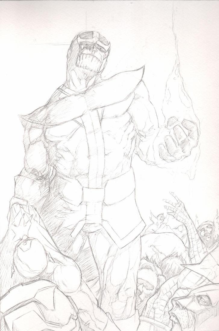 Thanos by SpaciousInterior