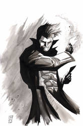 Gambit inktober by SpaciousInterior
