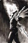 Ghost Rider inktober 19