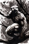 Black Panther by SpaciousInterior