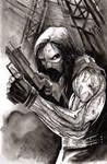 Winter Soldier Inktober 2020