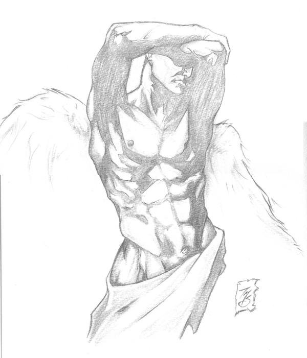 Archangel pencils by SpaciousInterior