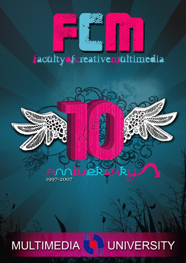fcm 10th anniversary poster