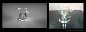 3D vs. reality Teacup