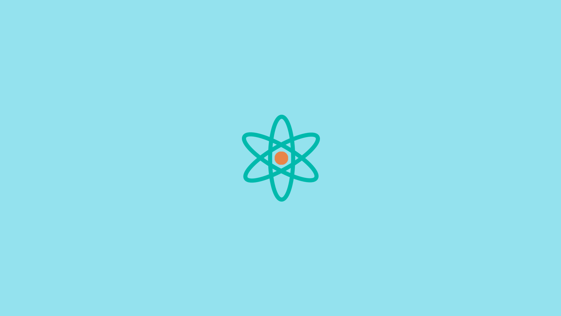 Minimal atom wallpaper 1920x1080 by dssdiego on deviantart for Deviantart minimal wallpaper