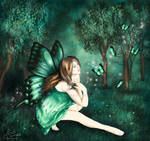 Adhara the Sea Green Butterfly