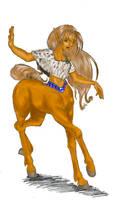 original color centaur