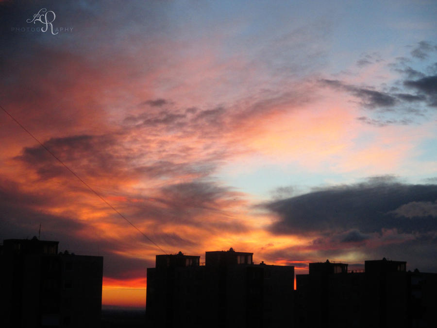 Colorful Morning I by ReBri