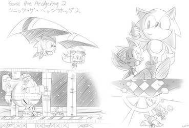 Sonic 2 Sketches