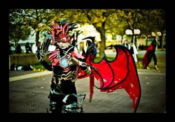 Chaos power is his heart by KiraShiranui