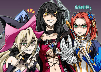 Berseria bad girls by only429