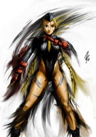 Color Cammy _Street Fighter_ by RamonFelinto