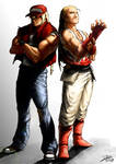 Terry and Andy Bogard _Final art