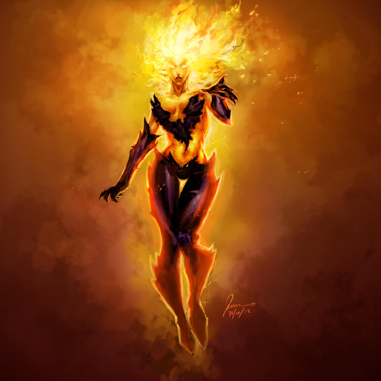 Jean Grey - Phoenix by RamonFelinto