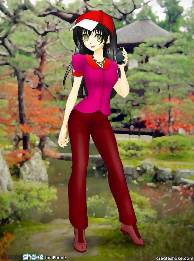 Myself in Manga/Anime by roseprincessmitia