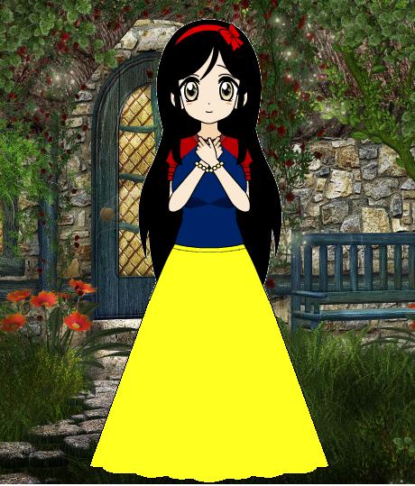 Corina as Princess Snow White by roseprincessmitia