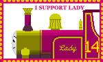 I Support Lady by roseprincessmitia