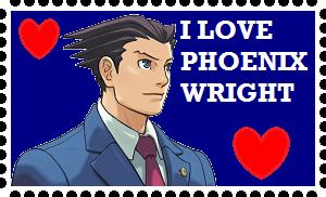 I Love Phoenix Wright by roseprincessmitia