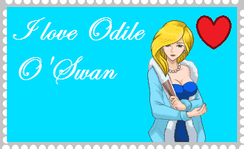I love Odile O'Swan by roseprincessmitia