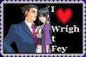 I love WrightFey by roseprincessmitia