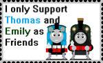 Thomas Emily Friends by roseprincessmitia
