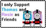 Thomas Rosie Friends by roseprincessmitia