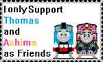 Thomas Ashima Friends by roseprincessmitia