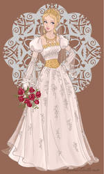 Wedding Day Princess Lady by roseprincessmitia